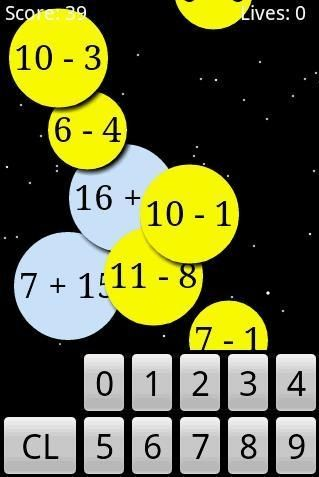 Numbers   Math Workout: Improve Your Arithmetic Skills [Android 1.6+]