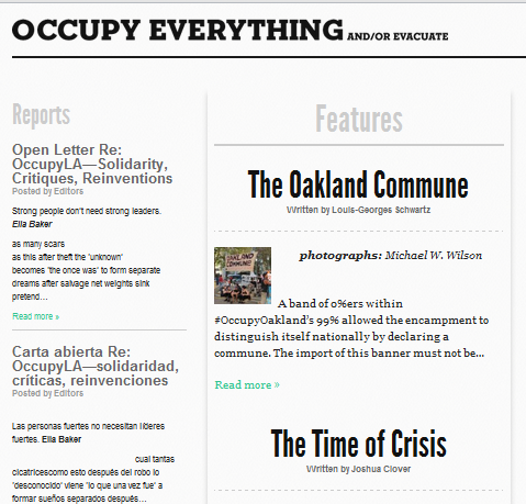 10 Occupy Movement Websites You Have To Check Out Occupy9