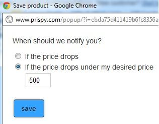 product price drops