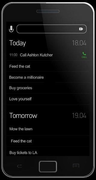 Today   AnyDO: A To Do List Creator That Supports Speech To Text [Android]