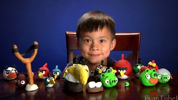 angry birds crafts for kids