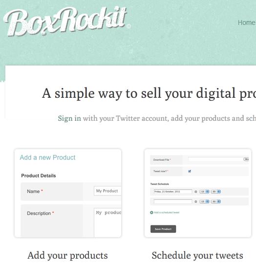 sell through twitter
