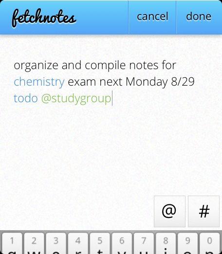 organize notes online