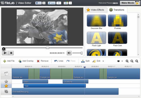 video audio editing online