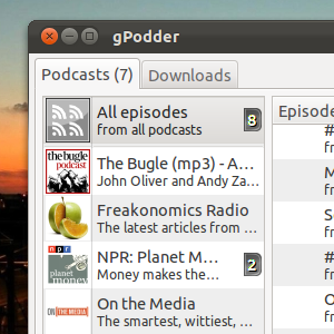 Manage Your Podcasts Easier With The gPodder App