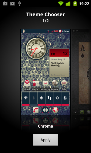 3 amazing themes for your rooted android device how to use them you can swipe left and right to scroll between your existing themes once you found the one you wish to use simply hit apply and thats it voltagebd Images