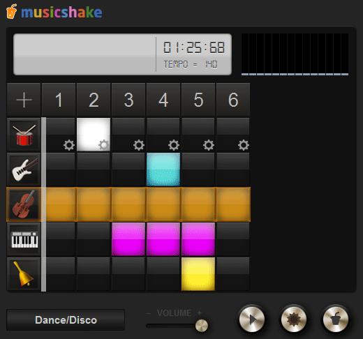 generate music beats