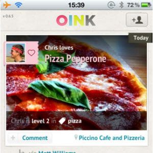Recommend Stuff You Like To Your Social Network Followers With Oink & Kinetik [iPhone]