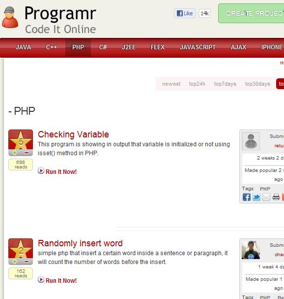 run programs in browser