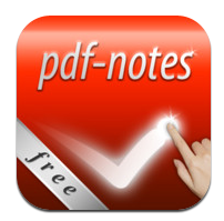 Read PDFs On The Go: 6 Free PDF Readers for iPad pdf notes logo