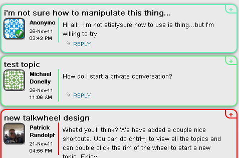 Talkwheel: A New & Interesting Way To Chat With People talkwheel1