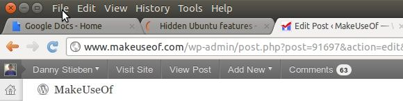 features on ubuntu