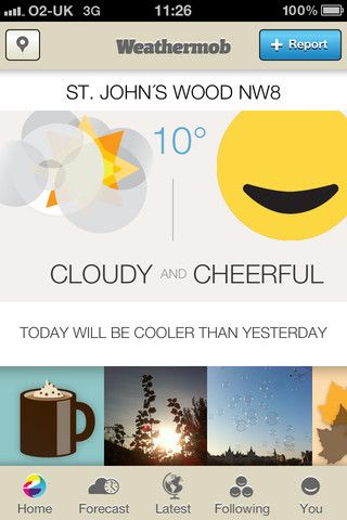 weathermob1   Weathermob: Become A Weatherperson With The Weather Social Network [iOS]