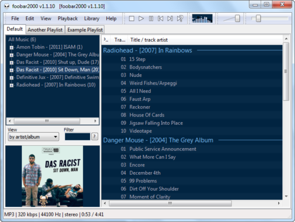 Play Music Like An Audiophile With Foobar2000 [Windows] 2011 12 24 13h58 59
