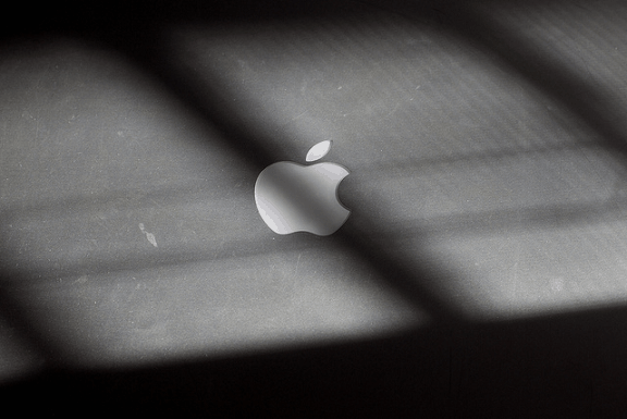 Is Apple's Downward Spiral Inevitable Without Jobs? Apple logo Fading