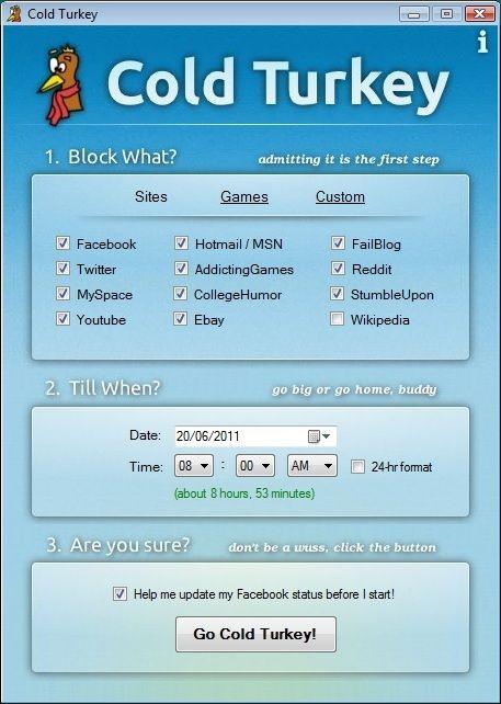 block distracting websites