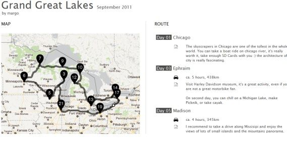 Lindalino: An Application To Share Your Travels With Friends Grand