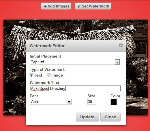 add watermarks to photos