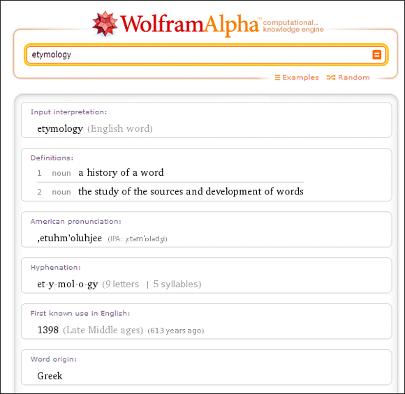 10 Cool Uses Of Wolfram Alpha If You Read And Write In The English Language Wolfram Alpha01