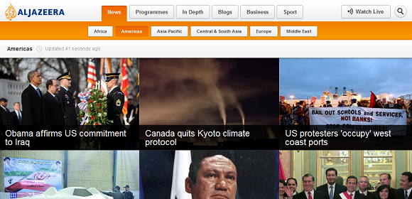 al jazeera chrome extension