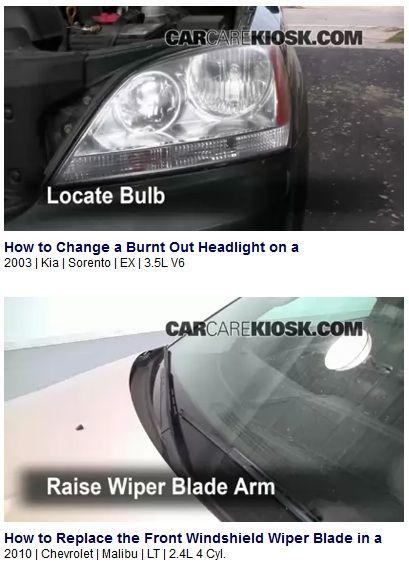 car repair video tutorials