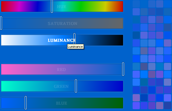 create custom color palettes
