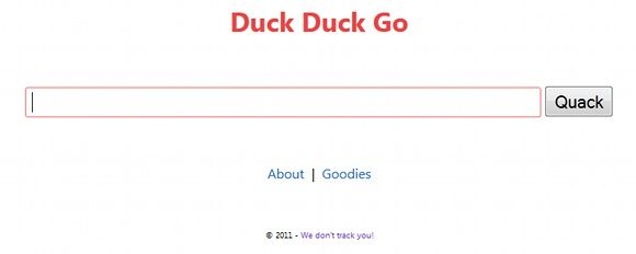 duck duck go search