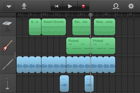 5 Reasons to Spend $5 on GarageBand for iOS [iPad, iPhone, and iPod Touch] garage band sequencer