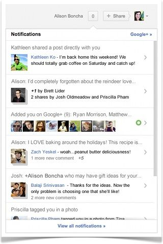 Google+ Receives Stream Control, Improved Notifications & More [News] googleplusnotifications