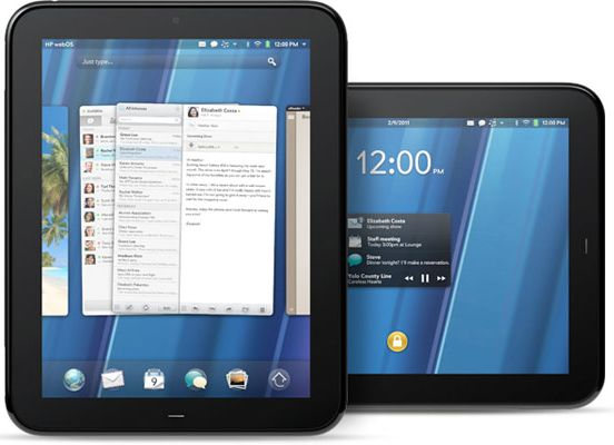 The 4 Biggest Tech Disappointments of 2011 hp touchpad palm
