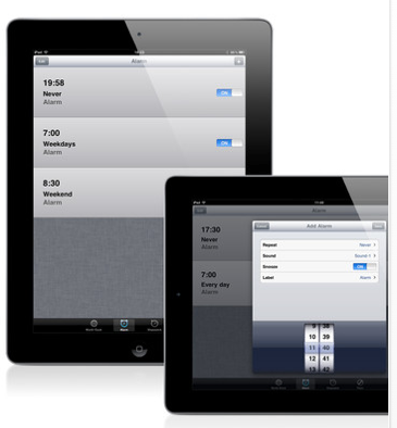 10 Timers And Clocks For iDevices You Can Download [iPhone, iPad, iPod] iPad timer