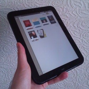 hp touchpad kindle