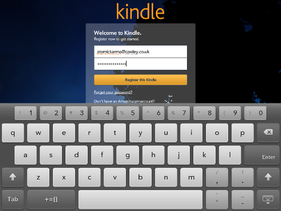 kindle for hp touchpad