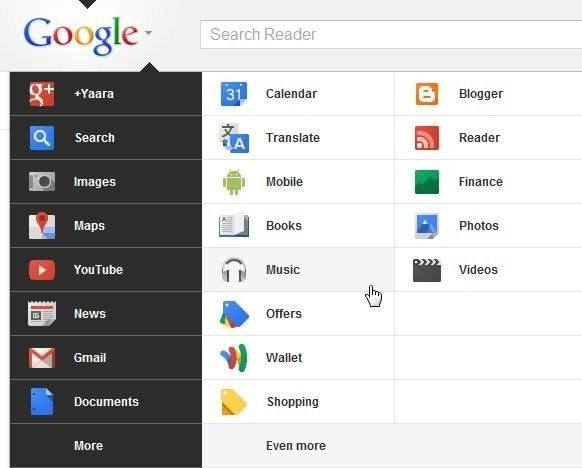new-google-bar
