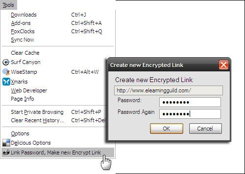 How To Encrypt And Password Protect Your Bookmarks In Firefox And Chrome To Keep Them Secure password protect bookmarks