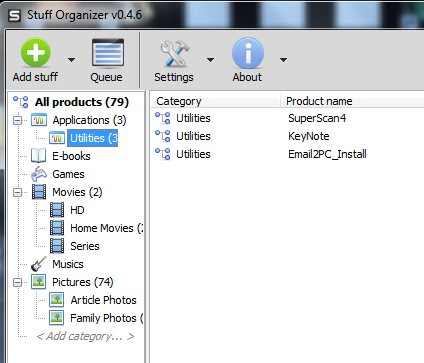 Organize Your Piles Of Files & Other Stuff With Stuff Organizer [Windows] stufforganizer6