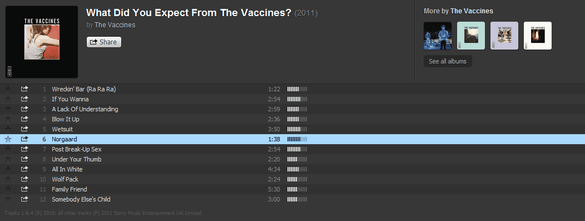 Discover New Music For Free With The New & Improved Spotify Radio Spotify Radio The Vaccines