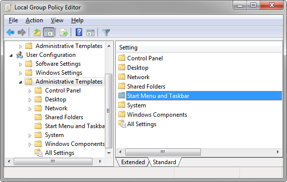 edit group policy in windows 7