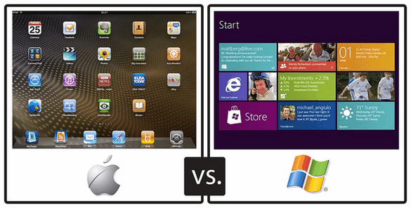 Will Windows 8 Succeed Or Fail? [Opinion] Windows vs iPad