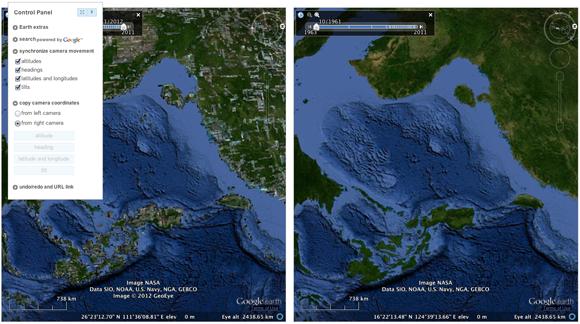 compare two maps
