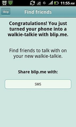 turn cell phone into walkie talkie