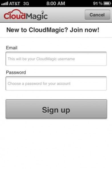 cloudmagic search