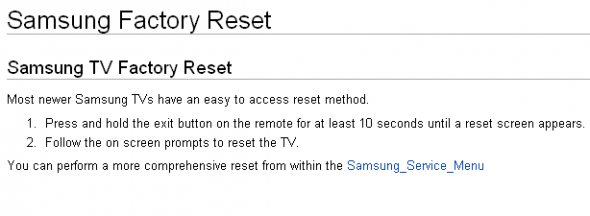factory-reset