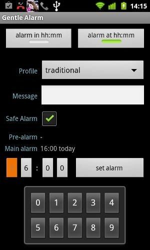 gentle alarm for android