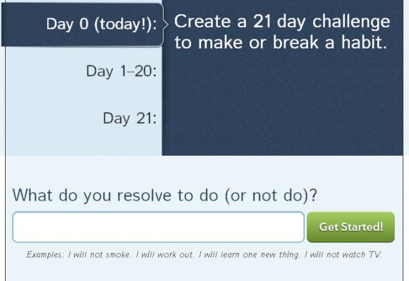 break a habit in 21 days