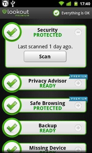 mobile security android review