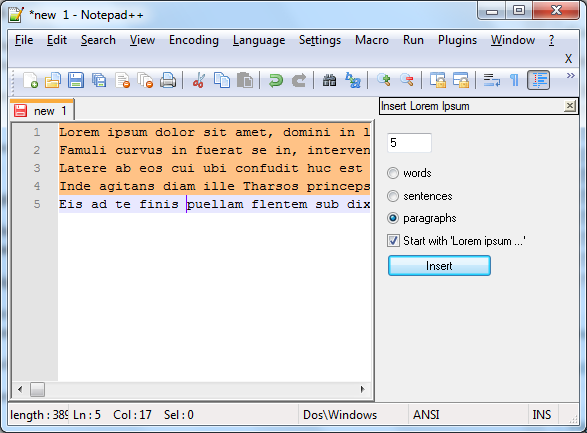 plugins for notepad++