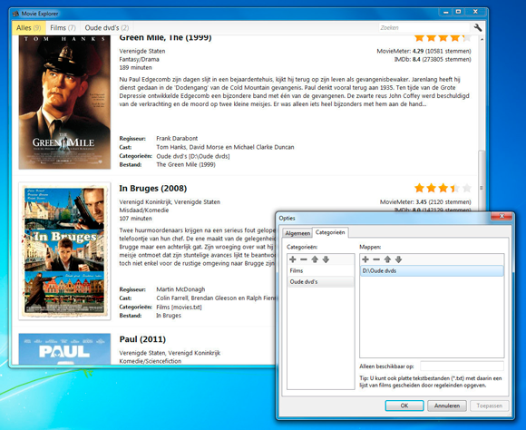 organize movies on your pc