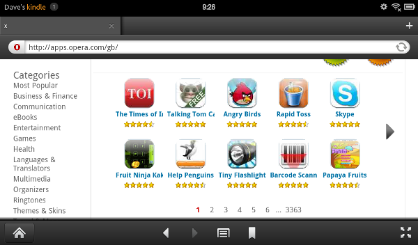 installing apps on kindle fire
