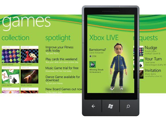 Play Xbox Live games on Windows Phone!